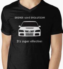 Mitsubishi Evo used Evolution It was Super Effective! Pokemon Gag Sticker / Tee - White T-Shirt