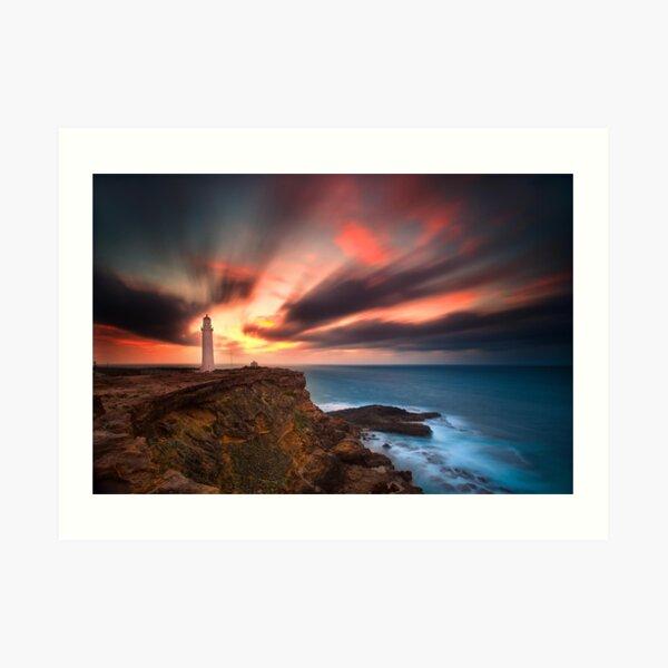 Cape Nelson Lighthouse Art Print