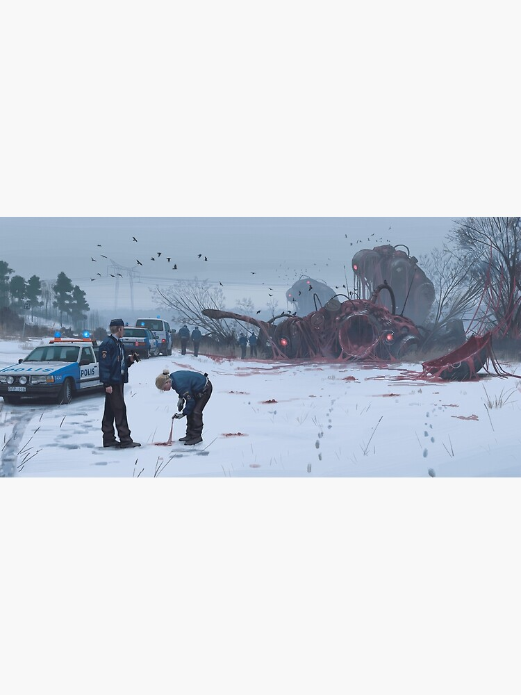 Violent Parturition Process by simonstalenhag