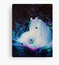 """Mystique"" Horse Spirit Canvas Print"