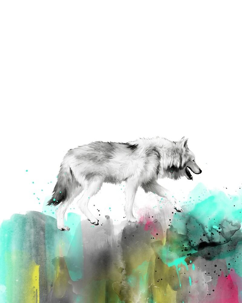 Wild No.3 // Wolf by Amy Hamilton