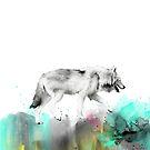 Wild Nr.3 // Wolf von Amy Hamilton