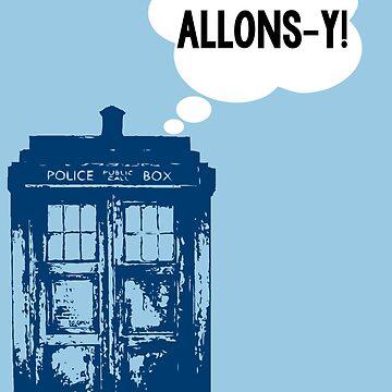 """ALLONS-Y!"" - 10th Doctor by wessaandjessa"