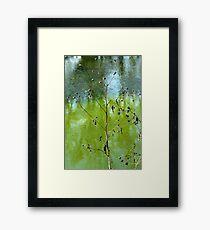 River Brush Framed Print