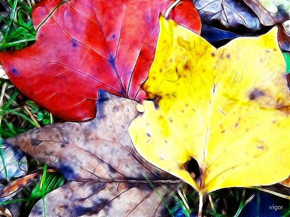 Leaf study 8 in fractalius by vigor