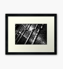 Indoor water feature Framed Print
