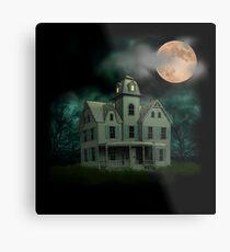 Haunted Mansion Metal Print