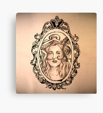 a lady's companion Canvas Print