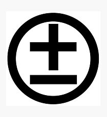 2015 Shirt (Black Logo) Photographic Print