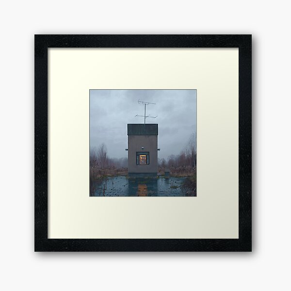 The Booth Framed Art Print