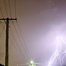We watch the lightning by Daniel Fitzgerald