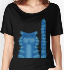 RIBBAR THE CAT Women's Relaxed Fit T-Shirt