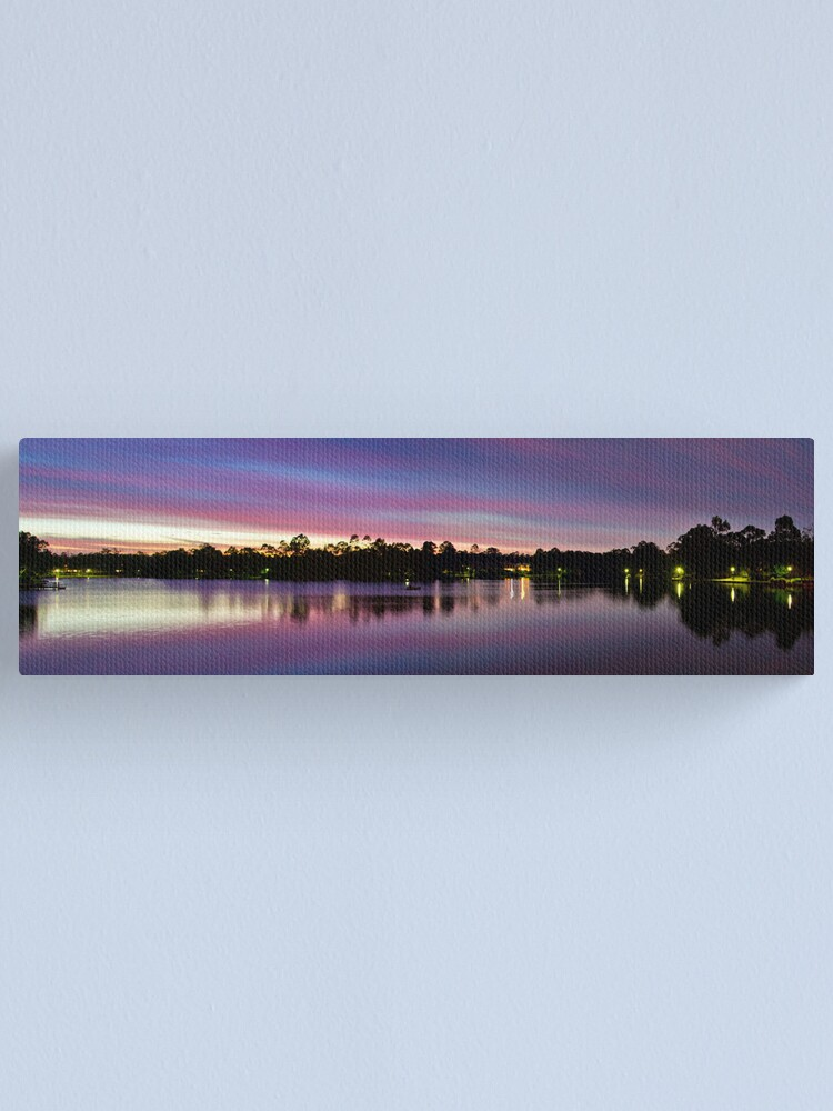 Alternate view of Natures Light Show Canvas Print