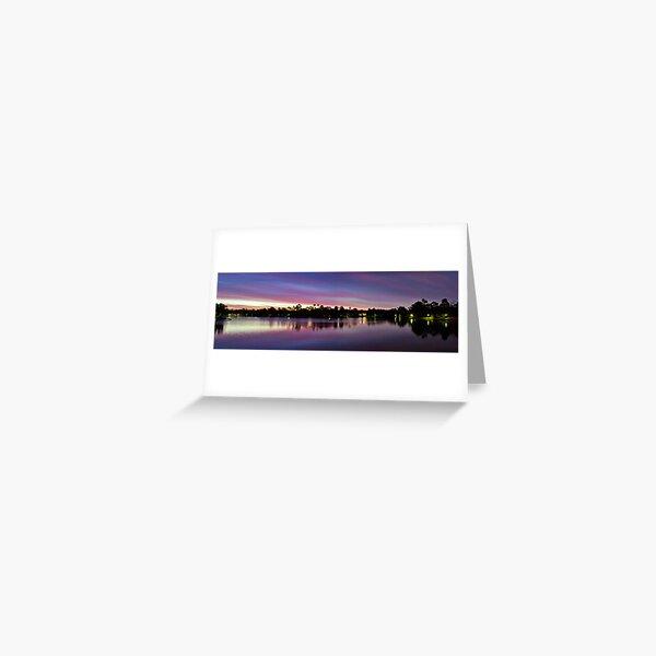 Natures Light Show Greeting Card