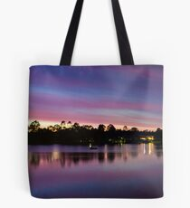 Natures Light Show Tote Bag
