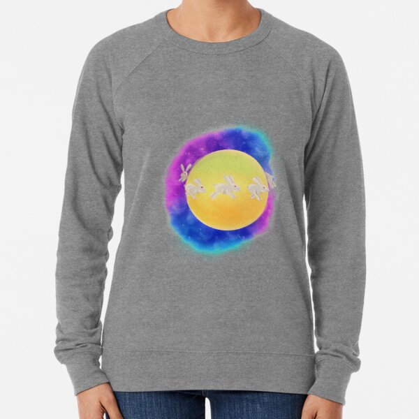 Bunny Planet  Lightweight Sweatshirt