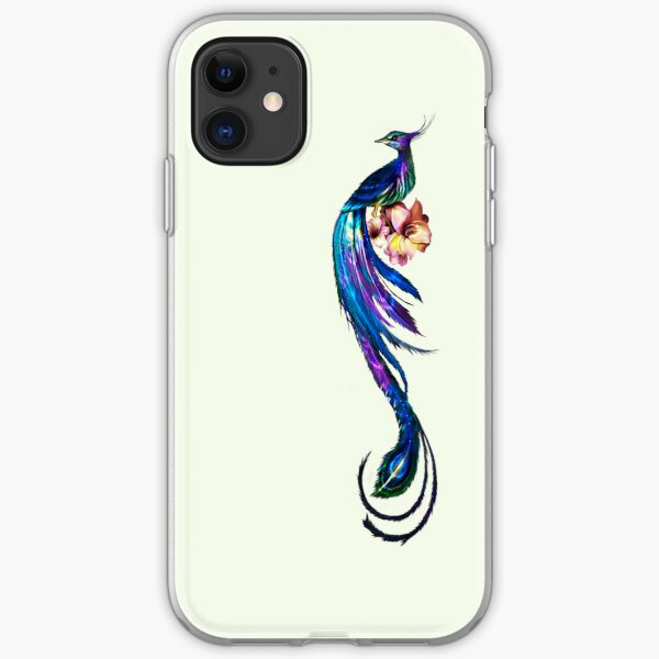 Elegant Peacock - iphone Case iPhone Soft Case