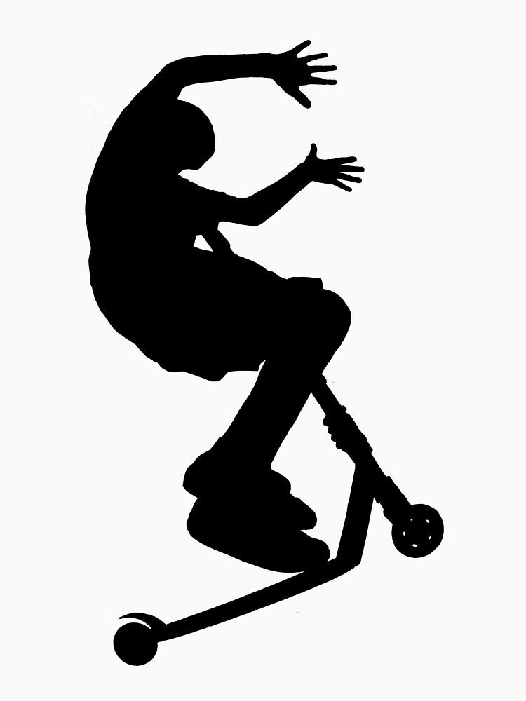 Scooter Trick - No Hander by jefflewis