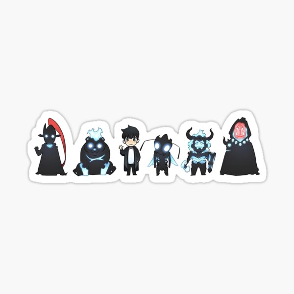 Solo Leveling - The whole lil gang Sticker