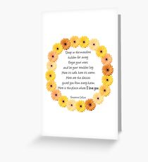 Deep in the Meadow Greeting Card