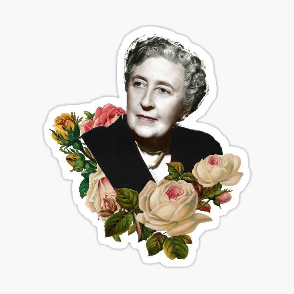 agatha vintage art Sticker