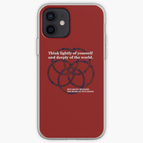 Think Lightly of Yourself iPhone Soft Case