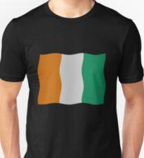 Ivory Coast flag Unisex T-Shirt