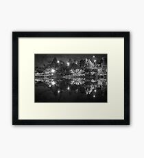 Polluted reflections [2] Framed Print