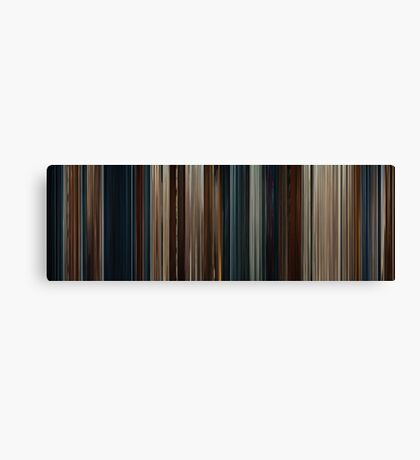 Moviebarcode: Thor (2011) Canvas Print