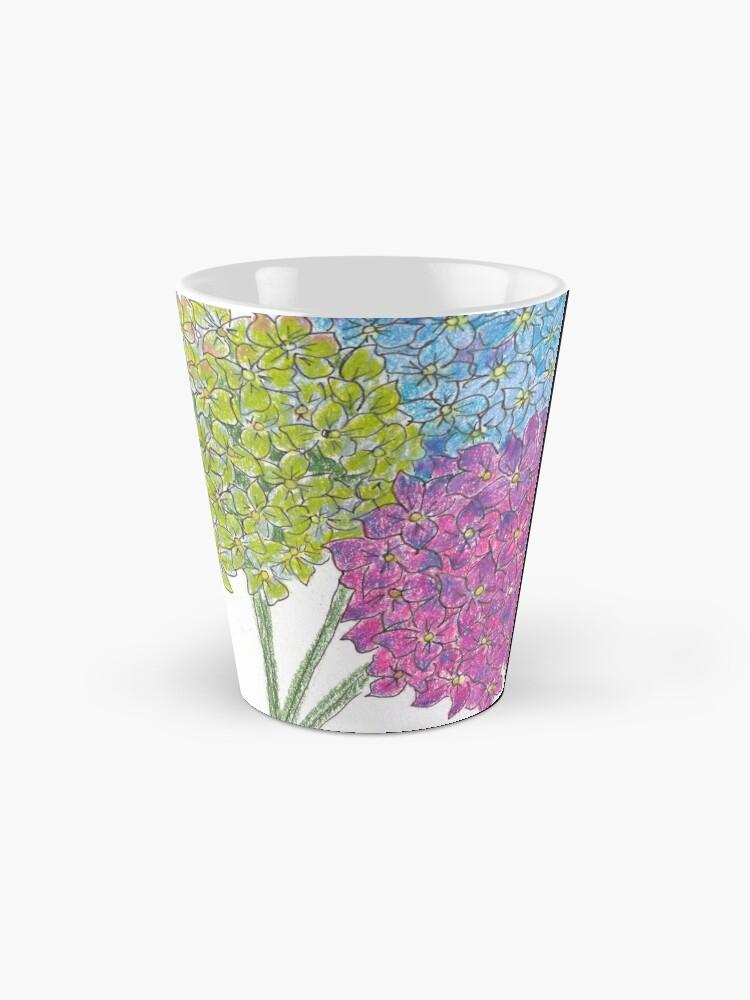 Alternate view of Hydrangea - Gratitude Mug