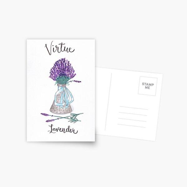 Lavender - Virtue Postcard