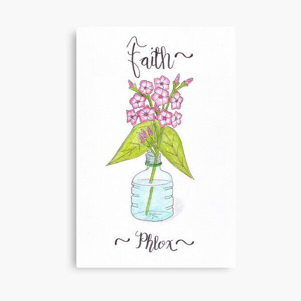 Phlox - Faith Canvas Print