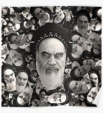 Horned Ayatollah Monsters Poster