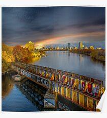 Graffiti bridge. Poster