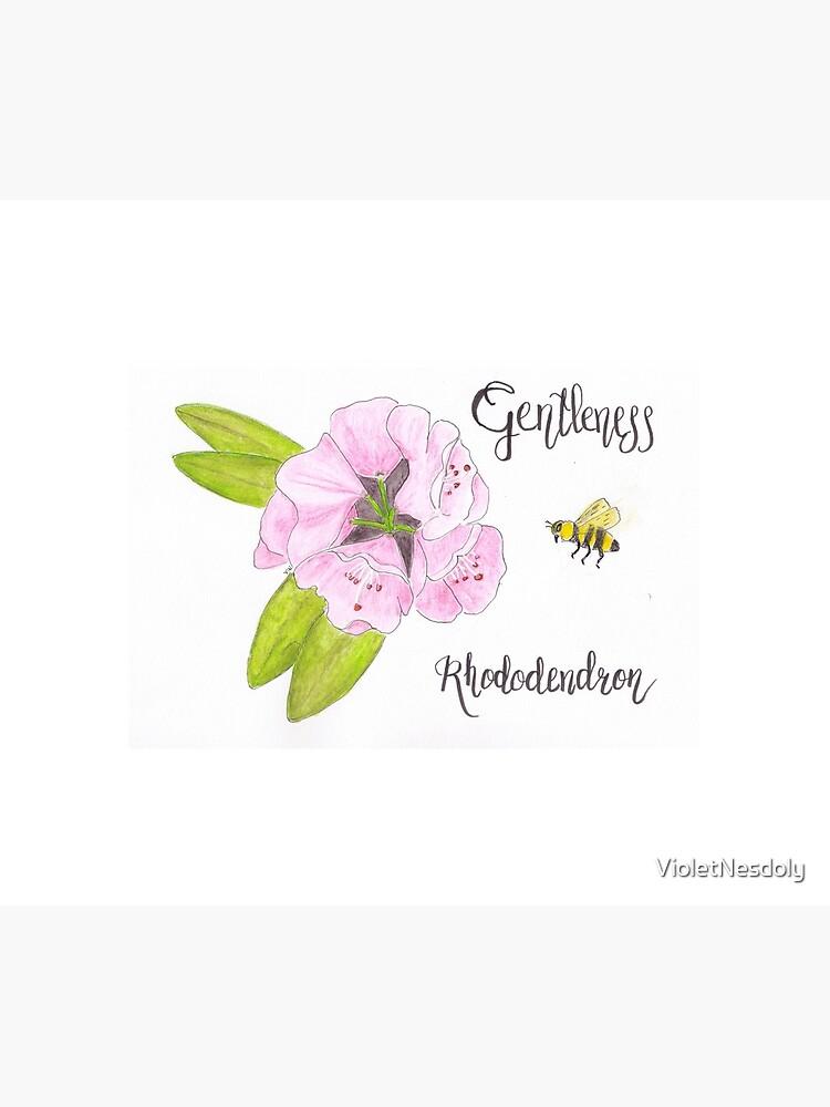 Rhododendron - Gentleness by VioletNesdoly