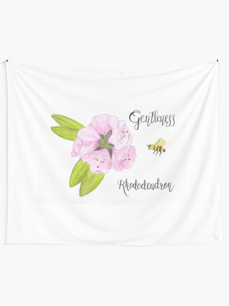 Alternate view of Rhododendron - Gentleness Tapestry