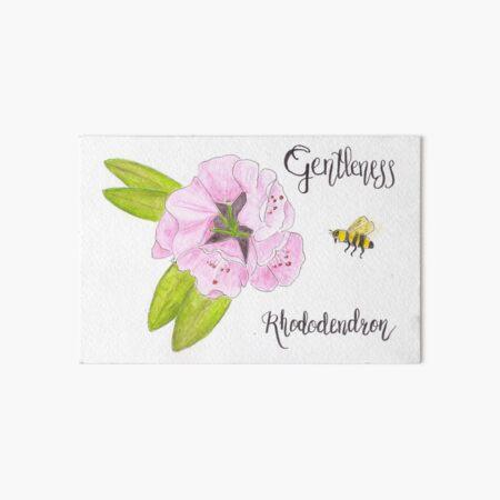 Rhododendron - Gentleness Art Board Print