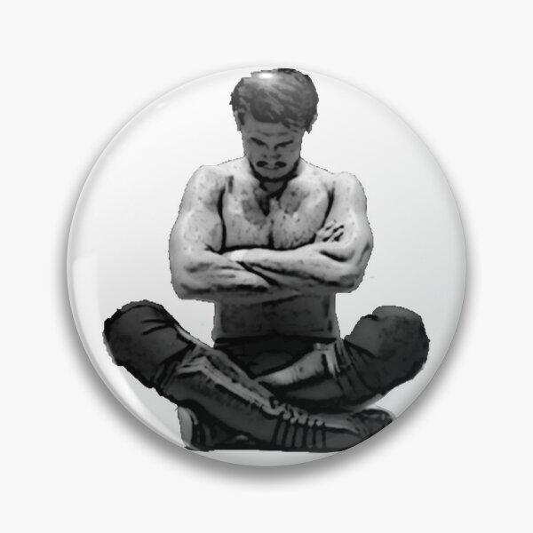 The Wrestler (Regular Font) Pin