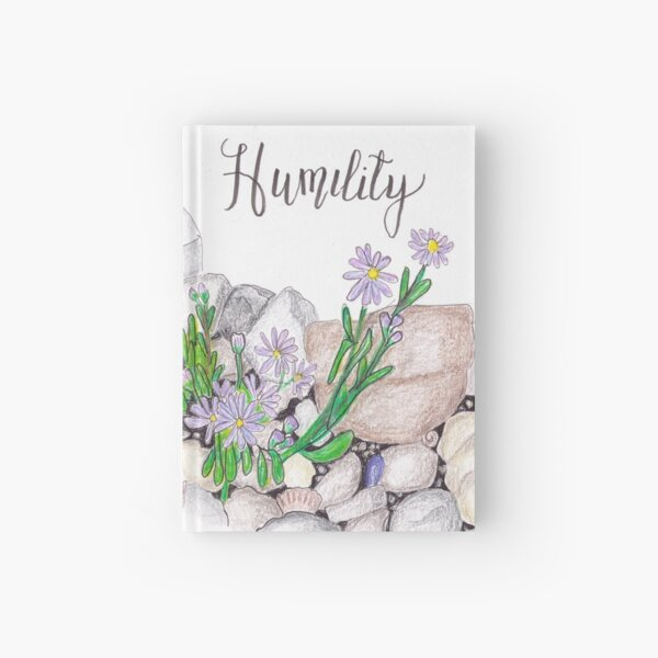 Sea Aster - Humility Hardcover Journal