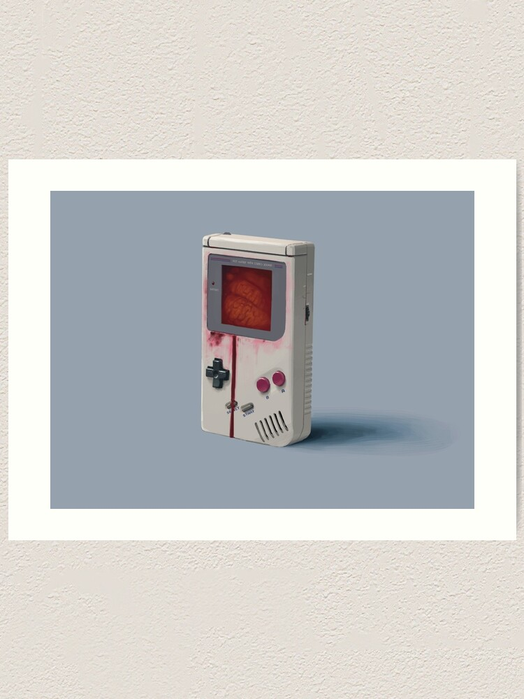 Alternate view of Things From The Flood - Gameboy Art Print