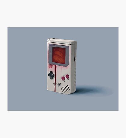 Things From The Flood - Gameboy Photographic Print