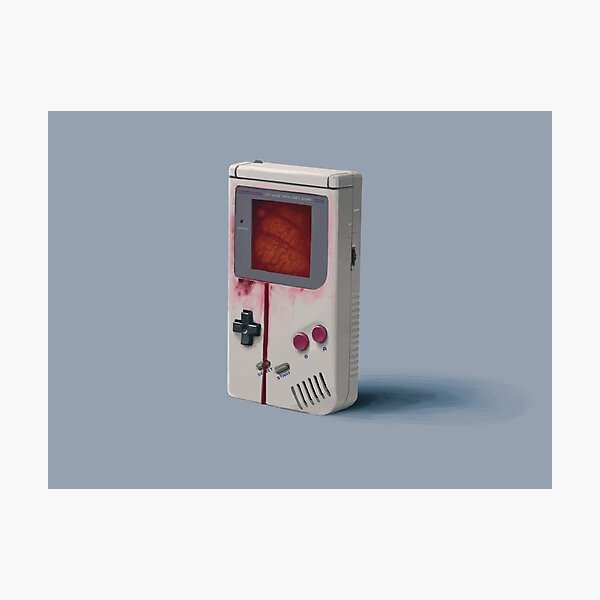 Dinge von der Flut - Gameboy Fotodruck