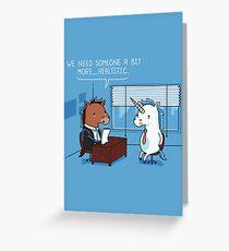 Realistic Greeting Card