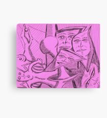 mutated gumby Canvas Print