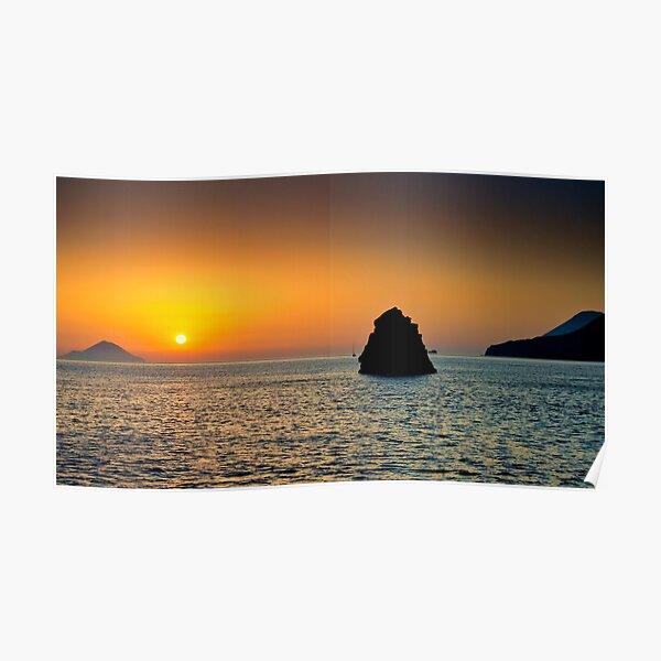 Isole al tramonto Poster