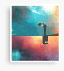 Peace for Lonely Monsters Metal Print