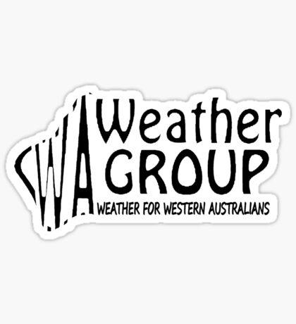 WA Weather Group T-Shirt  Sticker