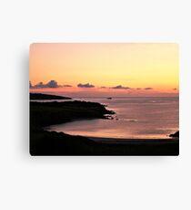 Sherkin Island - Bay Sunset Canvas Print