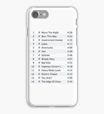 The iTunes Lady GaGa  iPhone Case/Skin