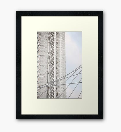 Connecting Milwaukee With Art Framed Print